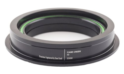 Cane Creek 10-Series Zerostack Bottom for 56mm Head-Tube (1.5-Inch Crown Race Diameter), Black