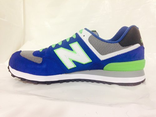 New Balance New Balance Men's ML574CBG, Blue/Green US 9.5 D