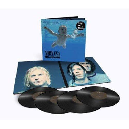 "Nevermind (Edizione 20° Anniversario) [Vinyl Deluxe Edition, 4 LP 12"" 180g]"