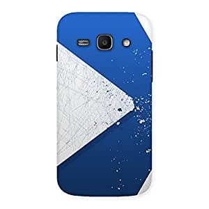 Gorgeous Blue Paint Work Job Back Case Cover for Galaxy Ace 3