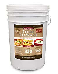 Chef\'s Banquet All-purpose Readiness Kit 1 Month Food Storage Supply (330 Servings)