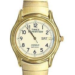 Timex Mens Goldtone Expedition Watch