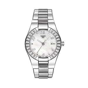Tissot Damen-Armbanduhr Glamsport Edelstahl T0432101111701