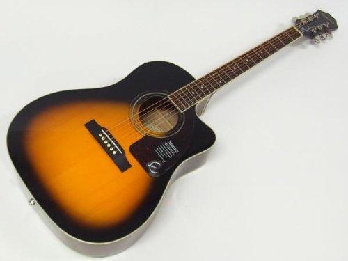 Epiphone AJ-220SCE VS エレクトリックアコースティックギター