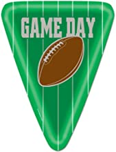 Beistle Game Day Football Night Party Dinner Plates - Pack of 8