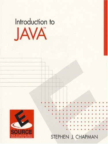 Introduction to Java (Esource--the Prentice Hall Engineering Source)