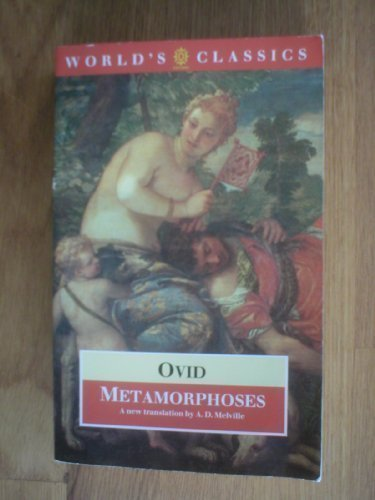 Metamorphoses (The World's Classics)