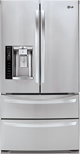 LG LMXS27626S French Door Refrigerator, 27.0 Cubic Feet, Stainless Steel (Lg French Door Stainless Steel compare prices)