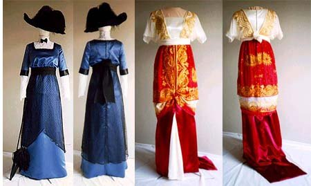 Formal Edwardian Gowns 1909-1913 Day or Evening Dress                               $13.95 AT vintagedancer.com
