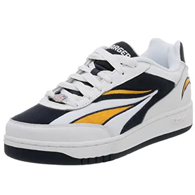 Amazon Com Reebok Men S Nfl Recline Ph Chargers Sneaker