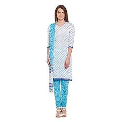 Pinkshink Women Cotton Dress Material k65