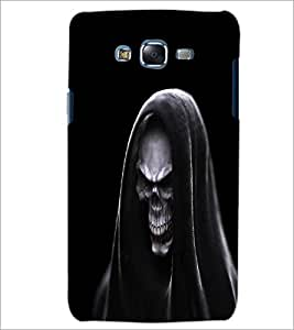 PrintDhaba Skull D-1142 Back Case Cover for SAMSUNG GALAXY J5 (Multi-Coloured)
