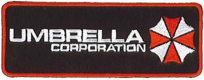Resi dent Evil penna argento-nero Umbrella Corporation con Logo