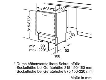 siemens sn65m007eu vollintegrierter geschirrsp ler einbau dc459. Black Bedroom Furniture Sets. Home Design Ideas