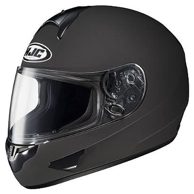 HJC CL-16 motorcycle helmet side view.