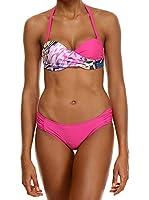 AMATI 21 Bikini 477-07 1Pkm (Fucsia / Multicolor)