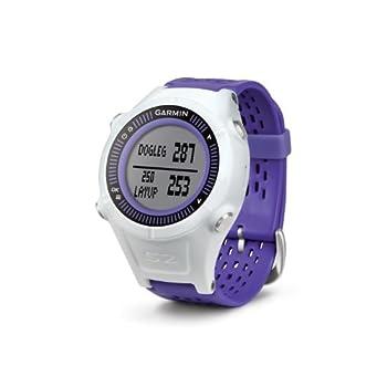 Garmin Approach S2 GPS Golf Watch with Worldwide Courses (Purple/White)