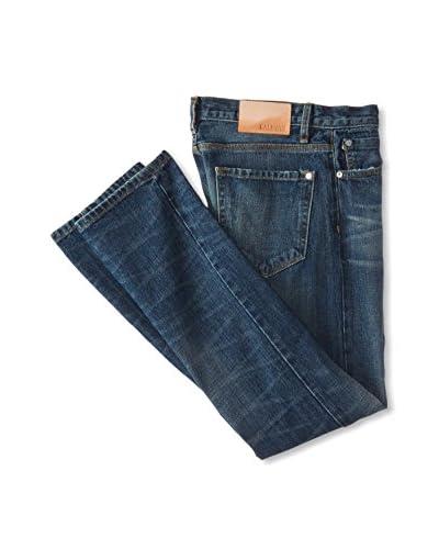 BALDWIN Men's Henley Slim Leg Selvage Jean