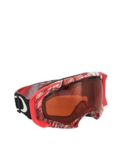 Oakley Máscara de Esquí MOD. 7022 CLIP Rojo / Blanco