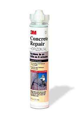 3M Concrete Repair Self-Leveling Gray, 8.4 oz Cartridge/2 mix nozzles