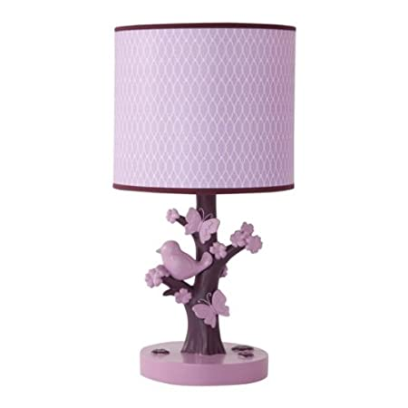 Lambs & Ivy Plumberry Lamp with Shade