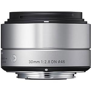 Sigma 33S963 30mm F2.8 DN F/MFT Camera Lens (Silver)