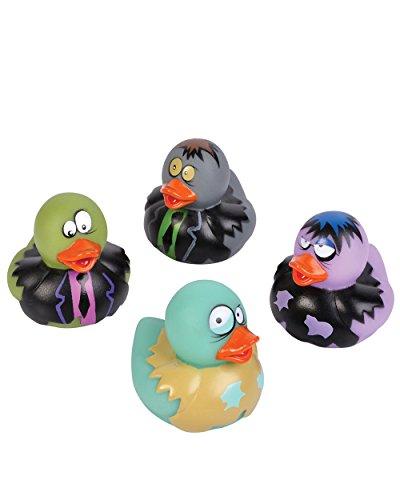 2-Inch Zombie Rubber Duckies (Bulk Pack Of 12 Ducks) front-248921