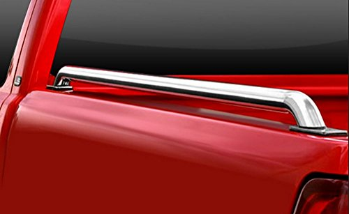 HS Power STAINLESS STEEL CHROME TRUCK SIDE BAR RAIL 14/15+ SILVERADO/SIERRA 5.5 Ft BED SB (Bar Hs compare prices)