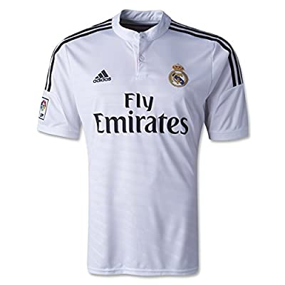 Adidas Real Madrid Home Jersey [WHITE/BLACK/BLAPNK] (M)