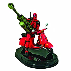 Marvel Deadpool with Vespa 10