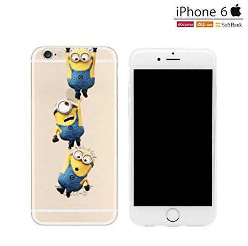 db8117e1eb iPhone6 iPhone6s ケース カバー TPU 薄くて軽い厚さ0.6mmのソフトケース iPhone6s / iPhone6 対応 -  怪盗グルーのミニオン 危機一発ミニ Minion (iPhone6s / iPhone6 ...