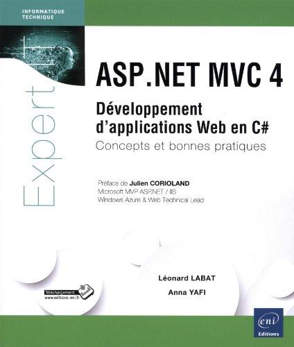 Livre Telecharger Asp Net Mvc 4 Developpement D Applications Web