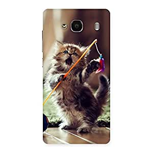 Cute Dancing Cats Back Case Cover for Redmi 2 Prime