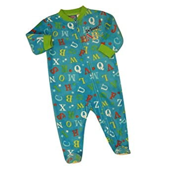 Amazon Dr Seuss ABC Infant Fleece Sleeper Size 6M