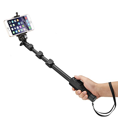 bluetooth selfie stick accmor tm 50 extendable handheld monopod with bluetooth remote shutter. Black Bedroom Furniture Sets. Home Design Ideas