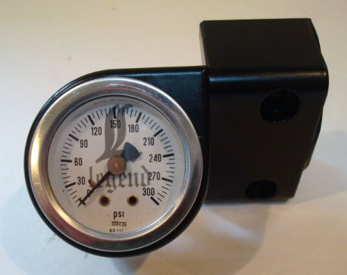 where can I find HANDLEBAR GAUGE MOUNT WITH WHITE FACE AIR GAUGE FOR