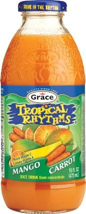 Tropical Rhythms Mango Carrot, 16Oz