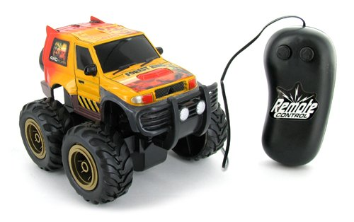 Single Function Wild Monster Wheeler Safari Electric Wired Remote Control Rc Monster Truck (Color May Vary) front-94858