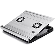 "Pwr+ 15"" Laptop Cooling Stand Pad For Macbook - Samsung Ultrabook Toshiba Lenovo Acer Asus Dell Hp Sony Quiet..."