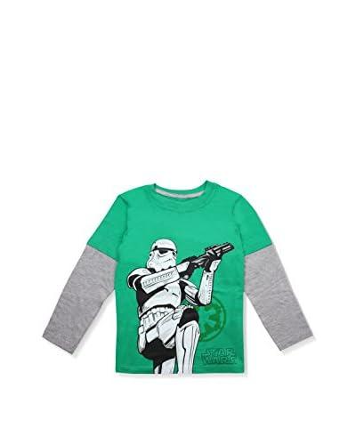 STAR WARS Longsleeve Imperial Trooper [Verde/Grigio Chiaro]