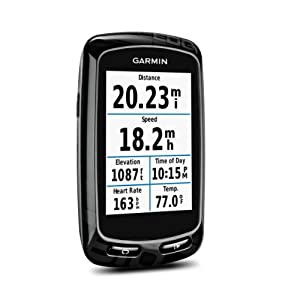 Garmin Edge 810 GPS Unit with Heart Rate Monitor and Speed Cadence Sensor by Garmin