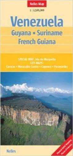 Venezuela Guyana, Suriname, French Guiana