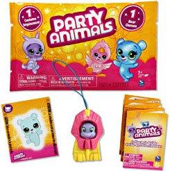 Party Animals Single FOIL Figure Pack 1 Random Bear 1 Random Costume - 1