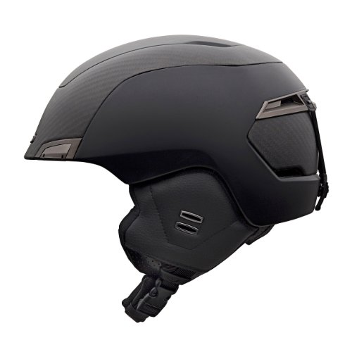 Giro Edition CF Snow Helmet (Matte Black/Carbon, Medium)