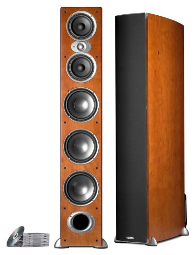 Big Save! Polk Audio RTI A9 Floorstanding Speaker (Single, Cherry)