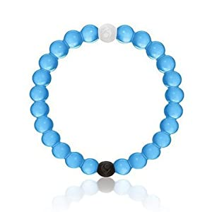 Ship From US 5 Colors Limited Edition Silicone Bracelets Arrive Before Christmas for Gift (L, Blue)