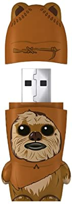 MIMOBOT Star Wars 4 GB USB 2.0 Flash Drive - Wicket by Mimoco Inc.