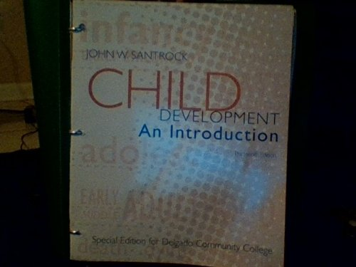 Child Development: An Introduction front-1039959