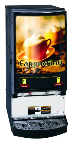 Grindmaster-Cecilware Pic2 2 Flavor Hot Powder Cappuccino, Hot Chocolate Specialty Beverage Dispenser