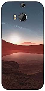 Snoogg Nature Wallpaper 4 Designer Protective Back Case Cover For HTC M8